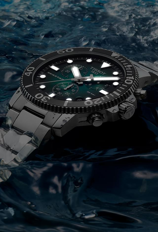 Tissot Seastar, fit for deep water