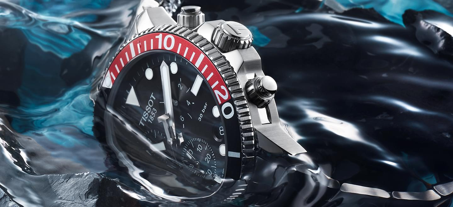 Tissot Seastar, with superluminova-aiguilles