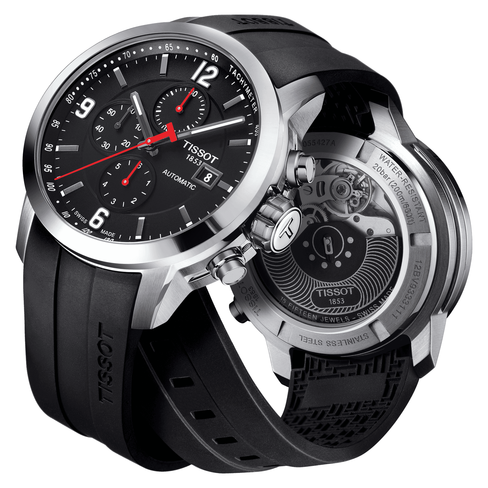 tissot chronographe automatique