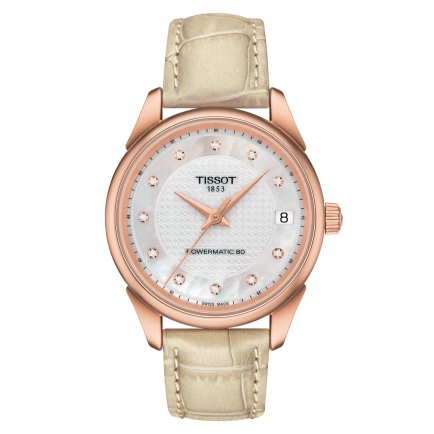 Tissot Vintage Powermatic 80 Lady 18K Gold