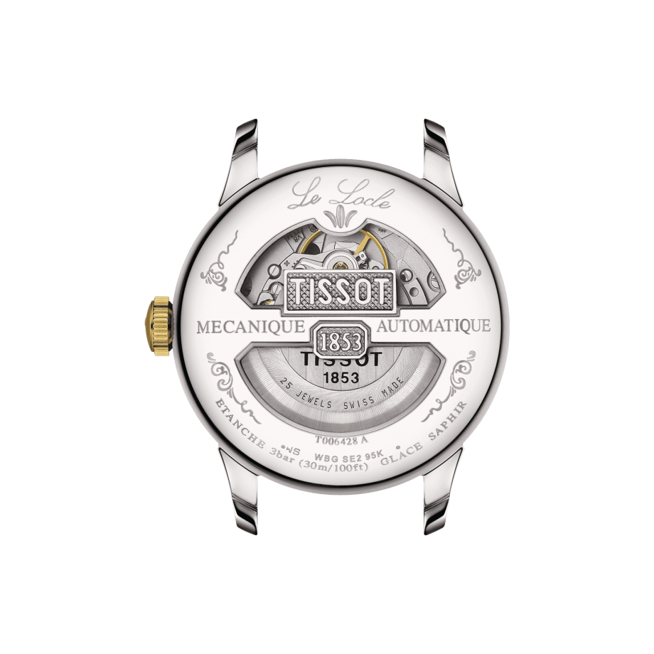 Tissot Le Locle Automatique Petite Seconde - Bekijk 1