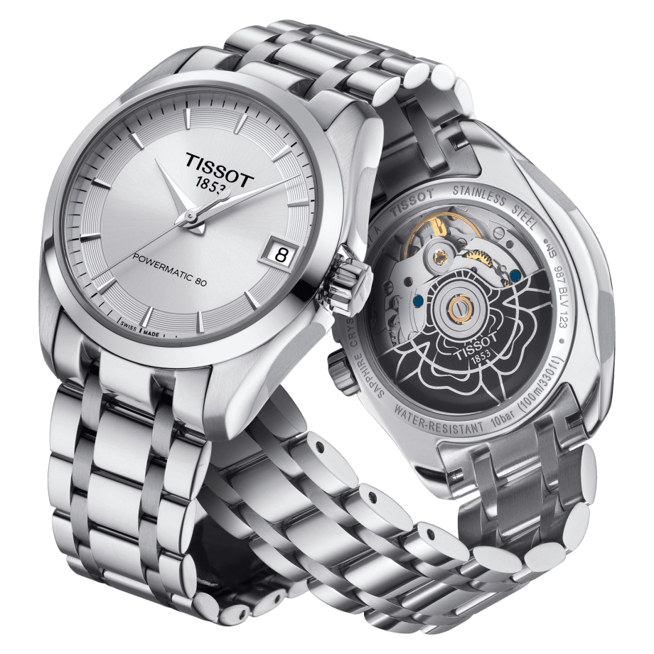 Tissot Couturier Powermatic 80 Lady - 查看 2