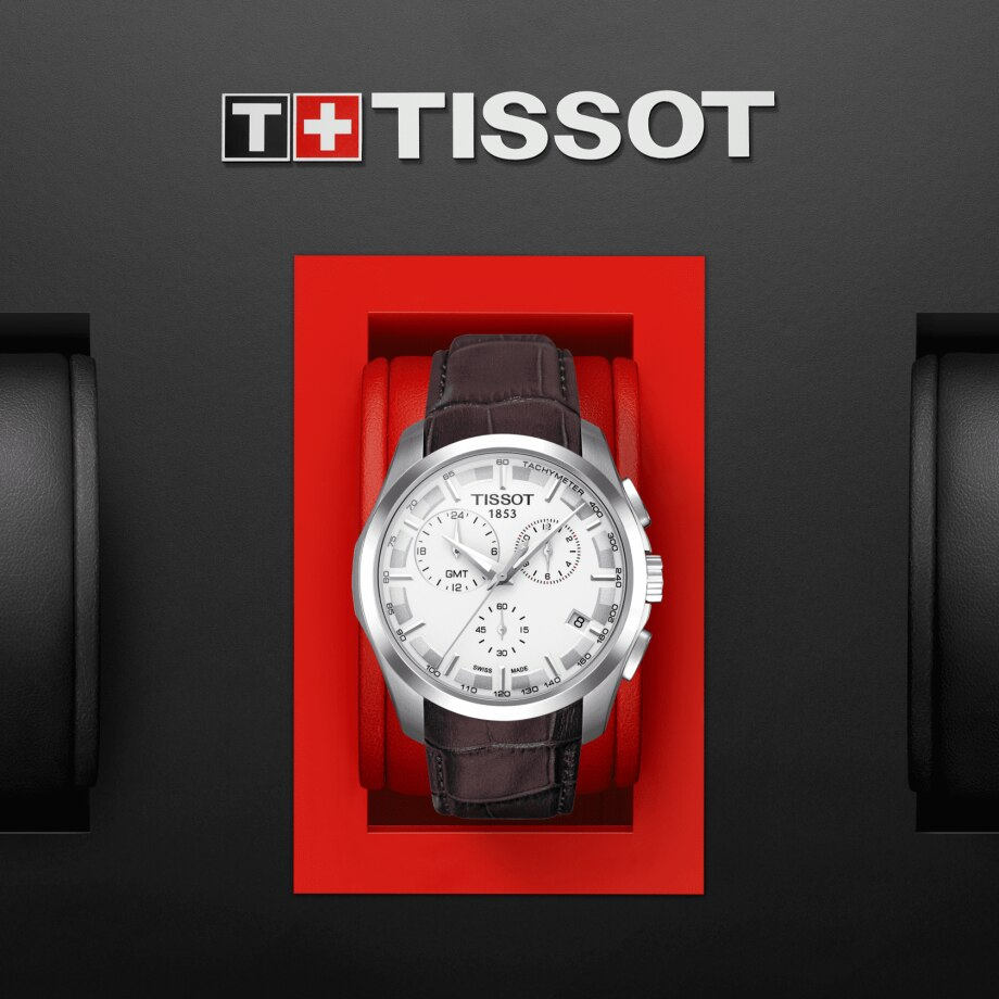 Tissot Couturier GMT - Mostra 1