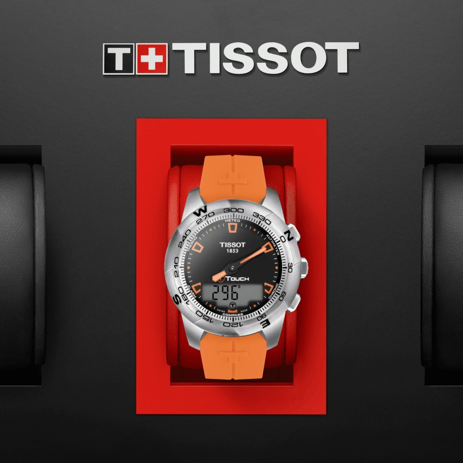 Tissot T-Touch II Stainless Steel - Ver 1