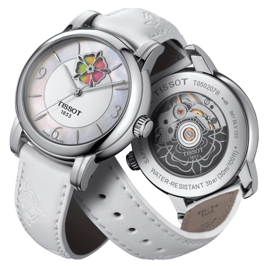 Tissot Lady Heart Flower Powermatic 80 - 查看 2