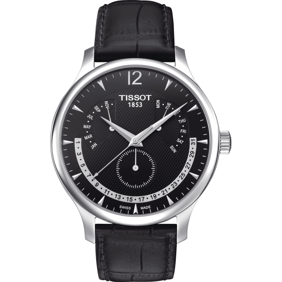 Tissot Tradition Perpetual Calendar - View 1