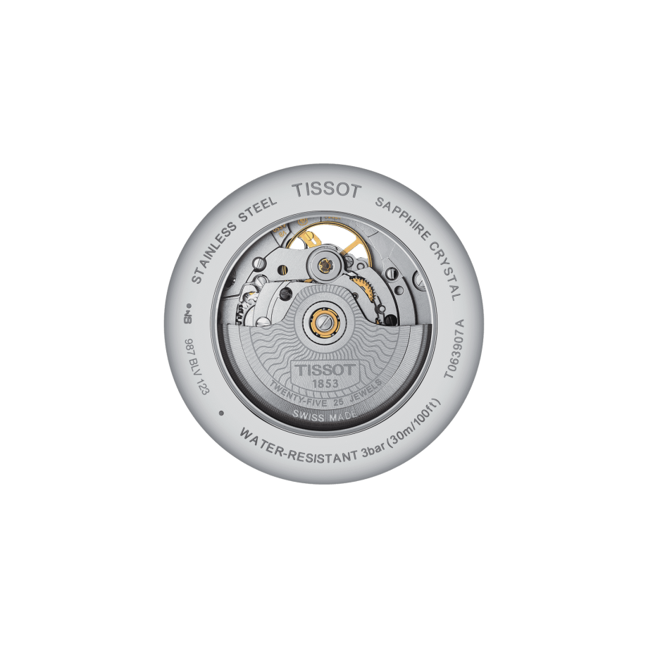 Tissot Tradition Powermatic 80 Open Heart - View 1