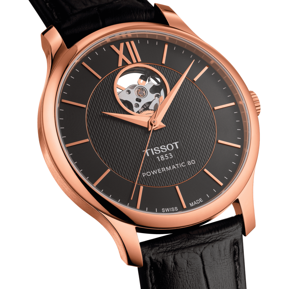 Tissot Tradition Powermatic 80 Open Heart - Bekijk 2
