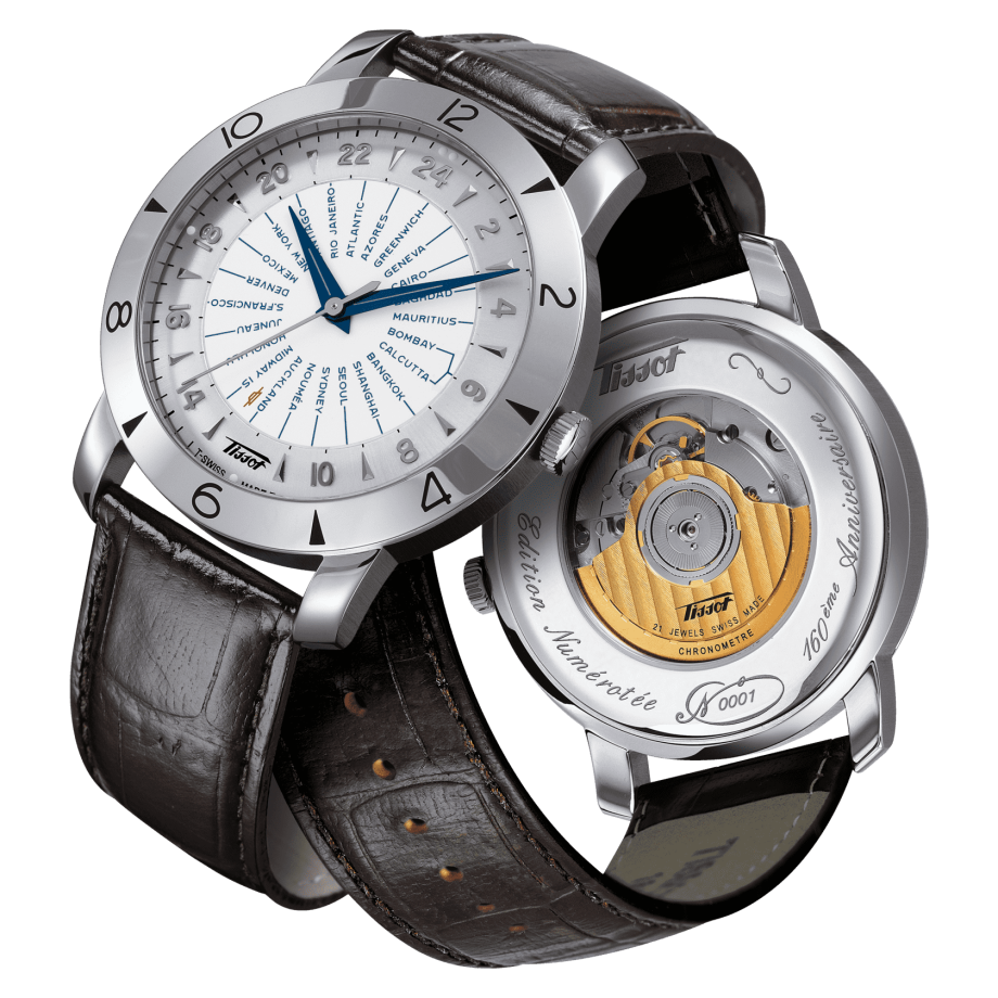 Tissot Heritage Navigator Automatic 160th Anniversary COSC - View 3