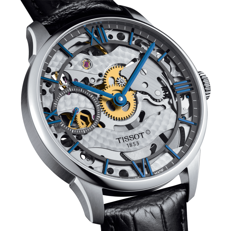 Tissot Chemin des Tourelles Squelette Mechanical - View 2
