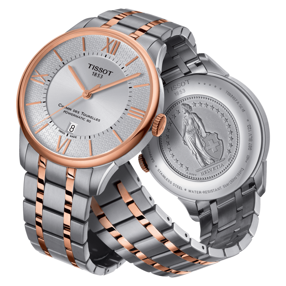 Tissot Chemin des Tourelles Powermatic 80 Helvetic Pride Special Edition - Visualizar 3