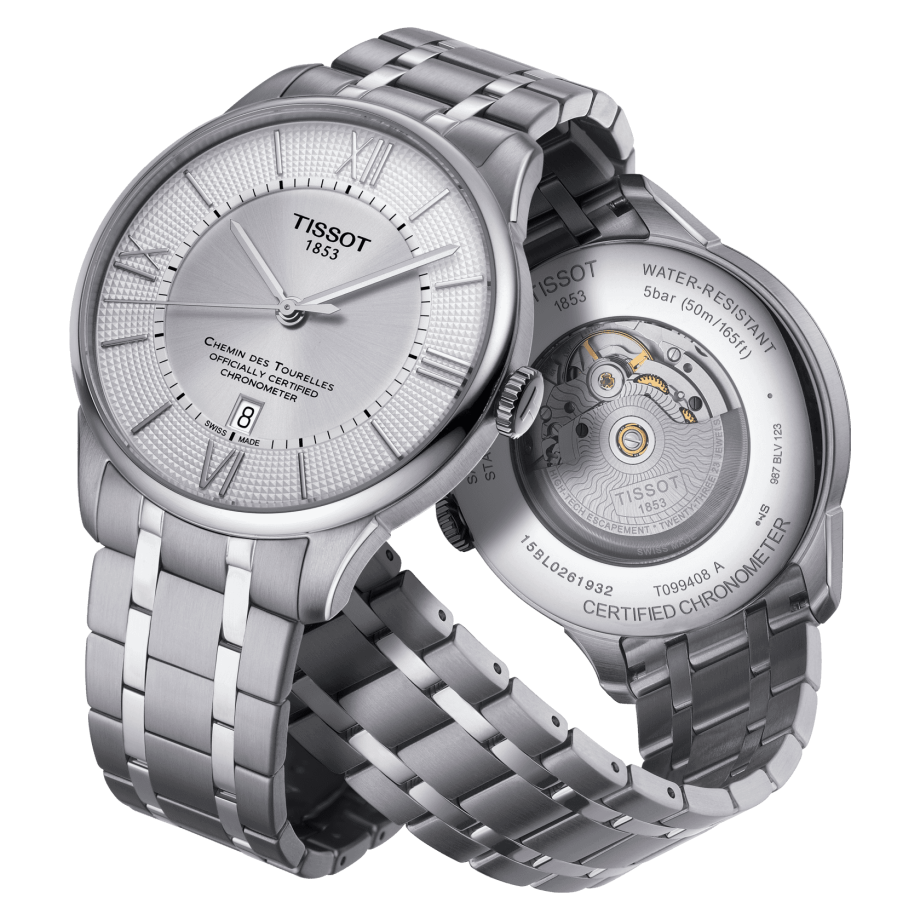 Tissot Chemin des Tourelles Powermatic 80 COSC - View 1