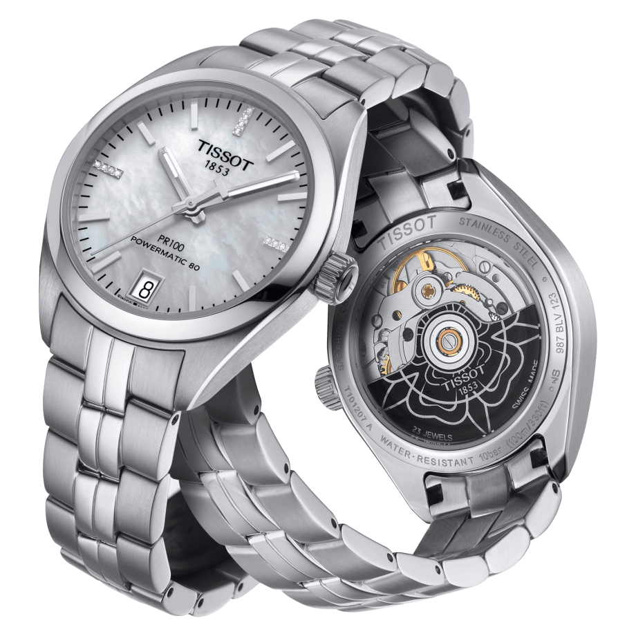 Tissot PR 100 Powermatic 80 Lady - View 2