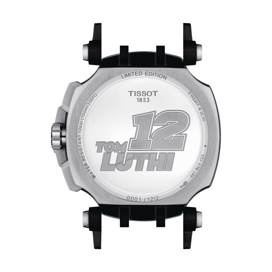 Tissot T-Race Chronograph Thomas Lüthi Limited Edition - View 3