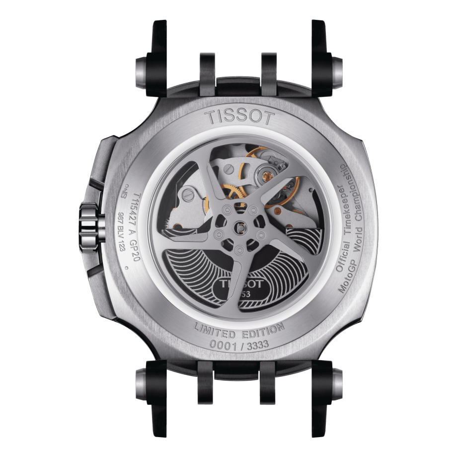 Tissot T-Race MotoGP 2020 Automatic Chronograph Limited Edition - Anzeigen 3