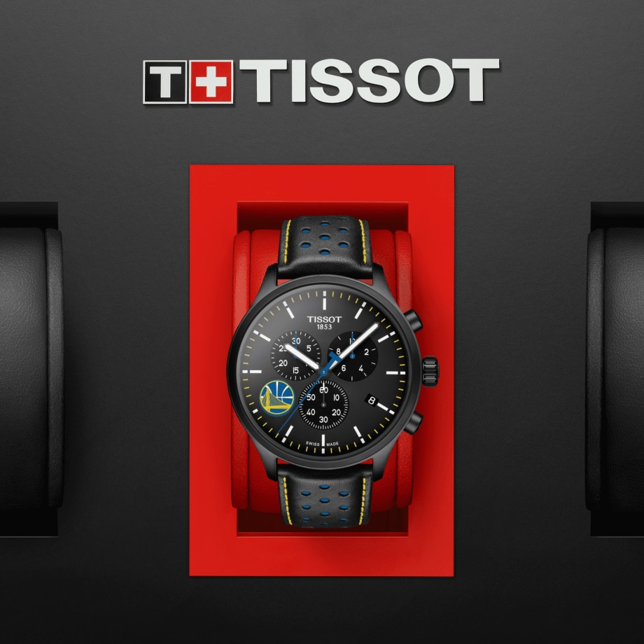 Tissot Chrono XL NBA Teams Special Golden State Warriors Edition - View 2