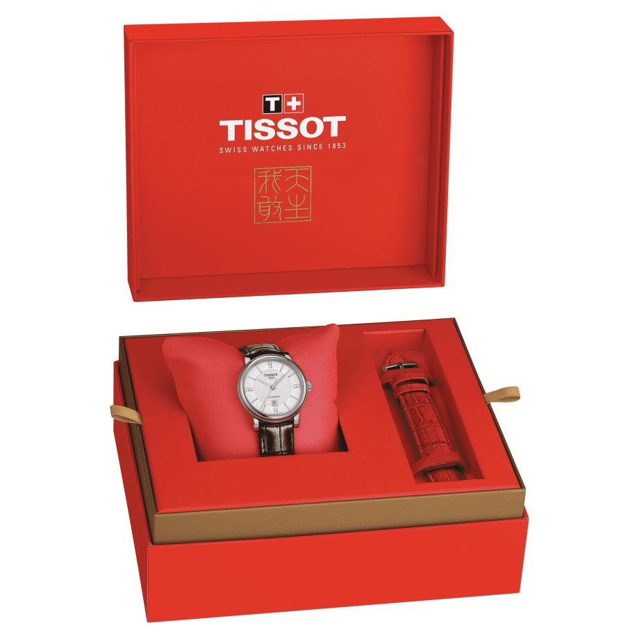 Tissot Carson Premium lady Automatic Born to be brave Special Edition - View 3