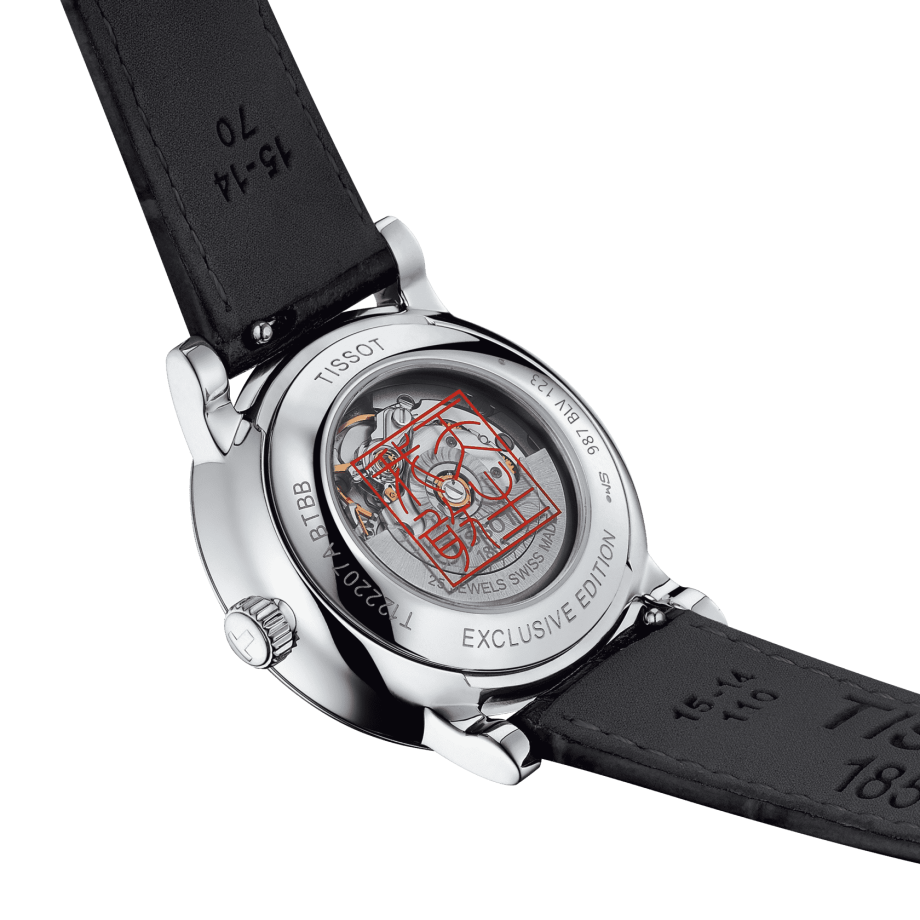 Tissot Carson Premium lady Automatic Born to be brave Special Edition - View 6
