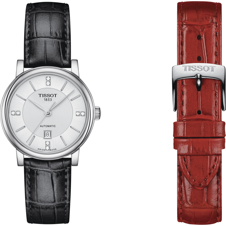 Tissot Carson Premium lady Automatic Born to be brave Special Edition - View 8