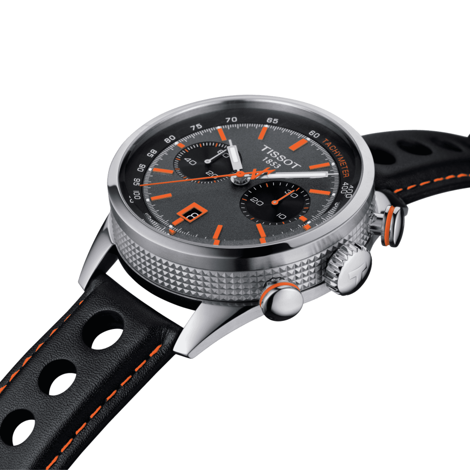 TISSOT ALPINE ON BOARD AUTOMATIC CHRONOGRAPH - Voir 5