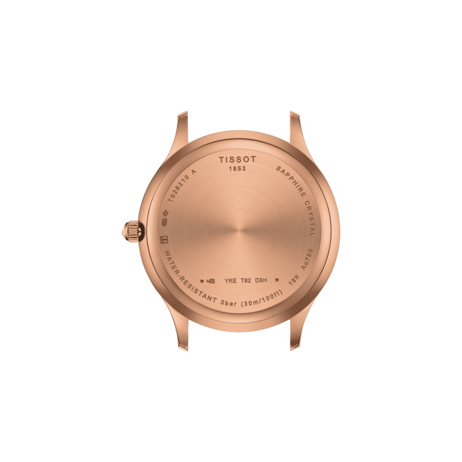 Tissot Excellence Lady 18K Gold - View 1