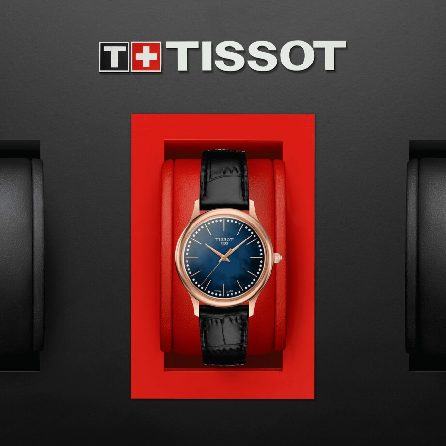 Tissot Excellence Lady 18K Gold - View 5