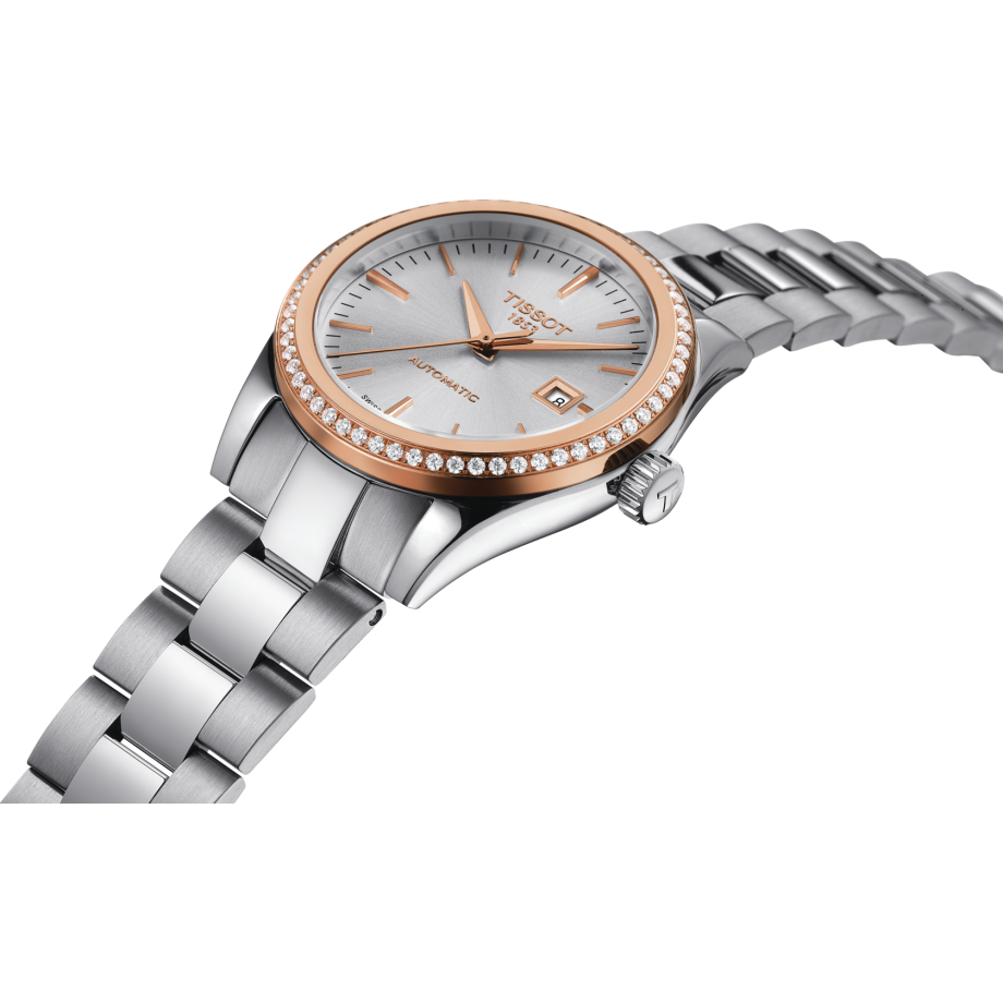 Tissot T-My Lady Automatic 18K Gold - 查看 2