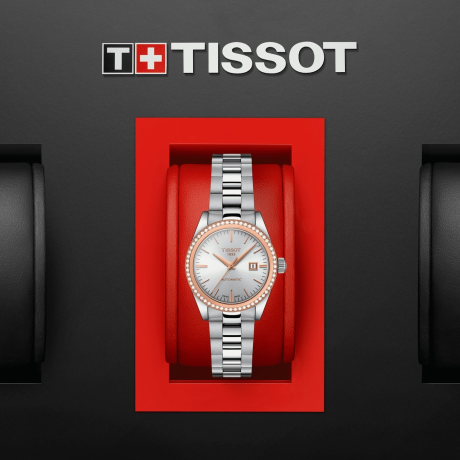 Tissot T-My Lady Automatic 18K Gold - View 5