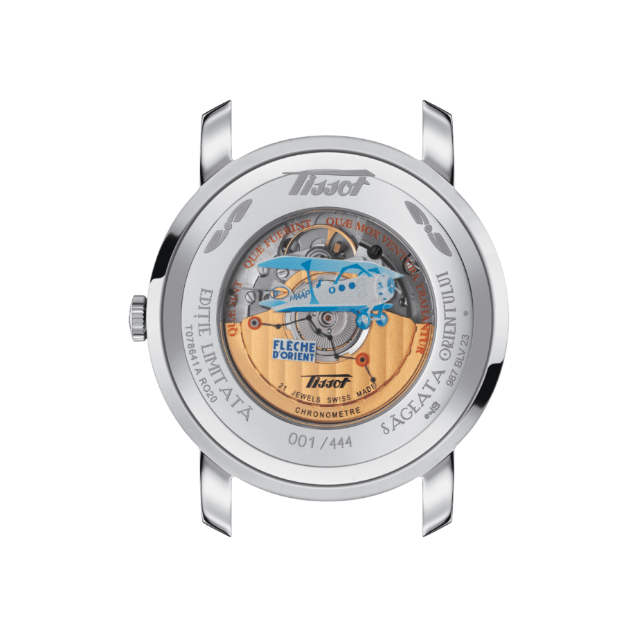 Tissot Heritage Navigator Romania Limited Edition - View 1