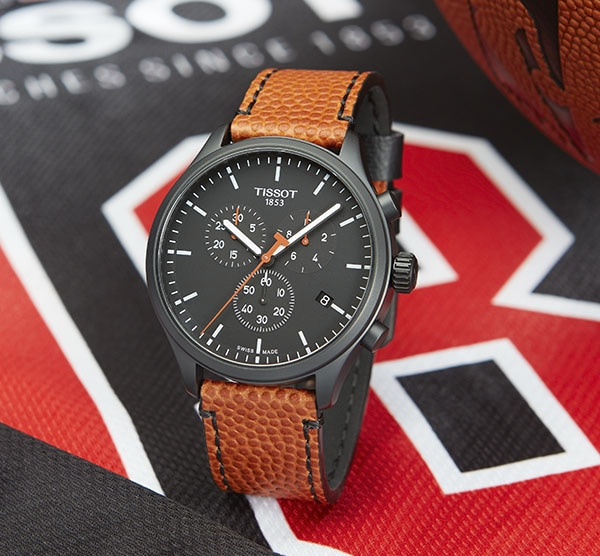 NBA season is about to start with its Official Timekeeper, Tissot