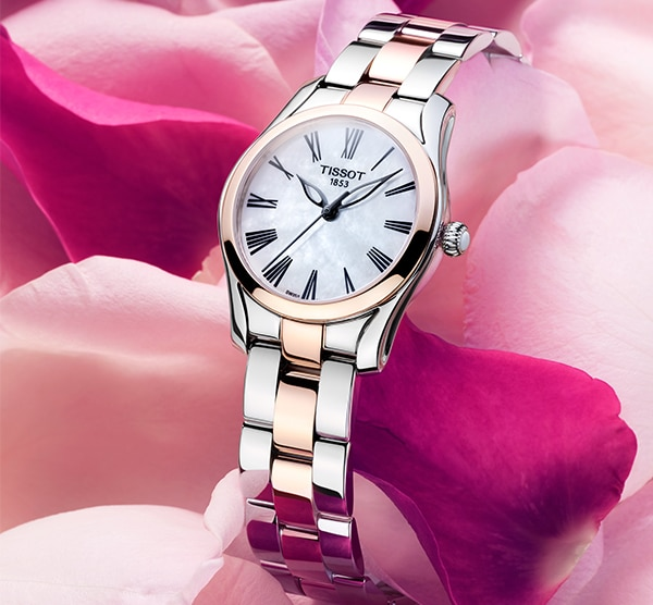 Tissot T-Wave bicolore - Glamour toujours