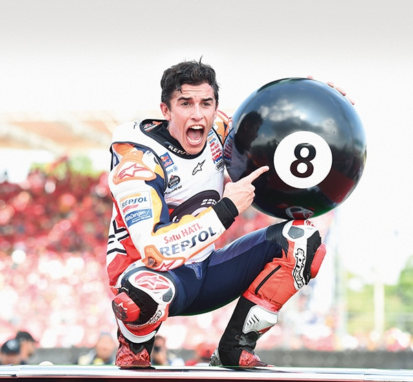 EIGHTH WORLD CHAMPIONSHIP TITLE IN ALL CATEGORIES FOR TISSOT AMBASSADOR MARC MARQUEZ